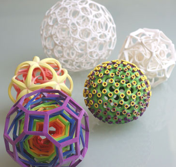 3d sphere models